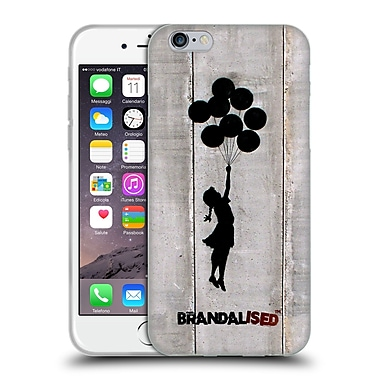 OFFICIAL BRANDALISED BANKSY TAGS Jerusalem Balloons Soft Gel Case for Apple iPhone 6 / 6s (C_F_18DD9)