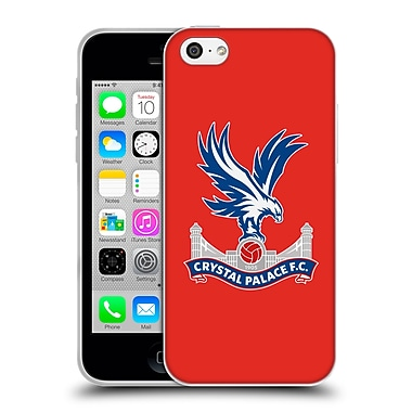 Official Crystal Palace FC The Eagles Red Soft Gel Case for Apple iPhone 5c (C_E_1E183)
