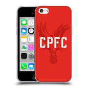 Official Crystal Palace FC The Eagles Eagle Red Soft Gel Case for Apple iPhone 5c (C_E_1E18A)