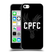 Official Crystal Palace FC The Eagles Eagle Black Soft Gel Case for Apple iPhone 5c (C_E_1E189)