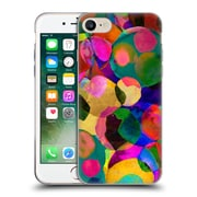 OFFICIAL AMY SIA WATERCOLOUR SPOTS Rainbow Soft Gel Case for Apple iPhone 7 (C_1F9_1AB7B)