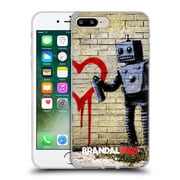 OFFICIAL BRANDALISED BANKSY VANDALS Robot Soft Gel Case for Apple iPhone 7 Plus (C_1FA_18DE7)