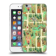 OFFICIAL ANNE LAMBELET PATTERNS Enchanted Forest Pillow Soft Gel Case for Apple iPhone 6 Plus / 6s Plus (C_10_1BDCA)