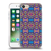 OFFICIAL AMY SIA TRIBAL Patchwork Blue Soft Gel Case for Apple iPhone 7 (C_1F9_1AB70)