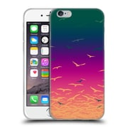 OFFICIAL AMY SIA ANIMAL PRINTS Flock Together Soft Gel Case for Apple iPhone 6 / 6s (C_F_1AB39)