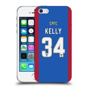 Official Crystal Palace FC 2016/17 Players Home Kit Martin Kelly Soft Gel Case for Apple iPhone 5 / 5s / SE (C_D_1E626)