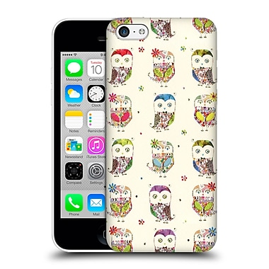 OFFICIAL TURNOWSKY MILLE FEUILLE Owl Party Hard Back Case for Apple iPhone 5c (9_E_1CE72)