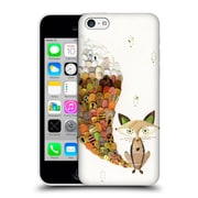 OFFICIAL TURNOWSKY MILLE FEUILLE Fuzzy Fox Hard Back Case for Apple iPhone 5c (9_E_1CE74)
