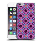OFFICIAL IULIIA LELEKOVA PATTERNS Purple Arabesque Flowers Hard Back Case for Apple iPhone 6 Plus / 6s Plus (9_10_1D2D7)