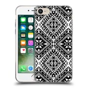 OFFICIAL AMY SIA TRIBAL Black And White Soft Gel Case for Apple iPhone 7 (C_1F9_1AB6F)