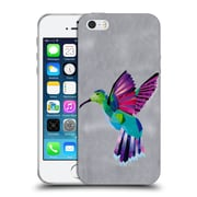 OFFICIAL ARTPOPTART ANIMALS Hummingbird Soft Gel Case for Apple iPhone 5 / 5s / SE (C_D_1A21D)