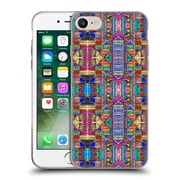 OFFICIAL AMY SIA TRIBAL Patchwork Red Soft Gel Case for Apple iPhone 7 (C_1F9_1AB73)