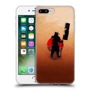 OFFICIAL ARON ART JAPANESE SILHOUETTE The Samurai Reboot Soft Gel Case for Apple iPhone 7 Plus (C_1FA_1DF08)