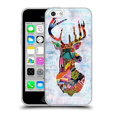 OFFICIAL ARTPOPTART ANIMALS Deer Soft Gel Case for Apple iPhone 5c (C_E_1A218)