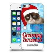 OFFICIAL GRUMPY CAT CHRISTMAS Bucket Hard Back Case for Apple iPhone 5 / 5s / SE (9_D_1CC08)