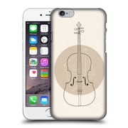 OFFICIAL FLORENT BODART MUSIC Cello Geo Hard Back Case for Apple iPhone 6 / 6s (9_F_1AFAD)