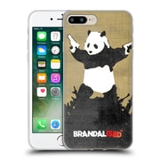 OFFICIAL BRANDALISED BANKSY VANDALS Panda Guns Soft Gel Case for Apple iPhone 7 Plus (C_1FA_18DE4)