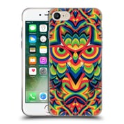 OFFICIAL ALI GULEC GEOMETRIC Owl 2 Soft Gel Case for Apple iPhone 7 (C_1F9_1BD3D)