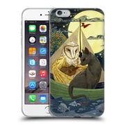 OFFICIAL ANNE LAMBELET FICTION Owl And Pussycat Soft Gel Case for Apple iPhone 6 Plus / 6s Plus (C_10_1BDC4)