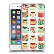OFFICIAL ANNE LAMBELET PATTERNS Coffee Kitchen Soft Gel Case for Apple iPhone 6 Plus / 6s Plus (C_10_1BDC8)