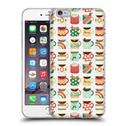 OFFICIAL ANNE LAMBELET PATTERNS Coffee Kitchen 2 Soft Gel Case for Apple iPhone 6 Plus / 6s Plus (C_10_1BDC9)