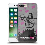 OFFICIAL BRANDALISED BANKSY VANDALS Mona Launcher Soft Gel Case for Apple iPhone 7 Plus (C_1FA_18DEC)