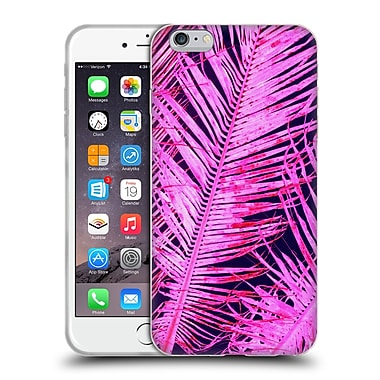 OFFICIAL AMY SIA TROPICAL Palm Hot Pink Soft Gel Case for Apple iPhone 6 Plus / 6s Plus (C_10_1AB76)