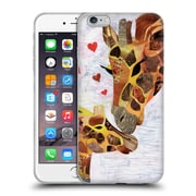 OFFICIAL ARTPOPTART ANIMALS Sweet Giraffes Soft Gel Case for Apple iPhone 6 Plus / 6s Plus (C_10_1A21C)