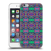OFFICIAL AMY SIA TRIBAL Patchwork Pink 2 Soft Gel Case for Apple iPhone 6 Plus / 6s Plus (C_10_1AB71)