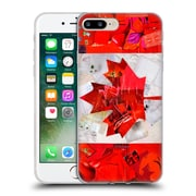 OFFICIAL ARTPOPTART FLAGS Canada Soft Gel Case for Apple iPhone 7 Plus (C_1FA_1A225)