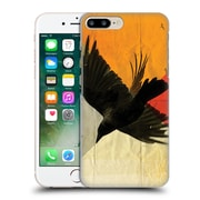 OFFICIAL VIN ZZEP BIRDS Pitch Of A Raven Hard Back Case for Apple iPhone 7 Plus (9_1FA_1E23C)