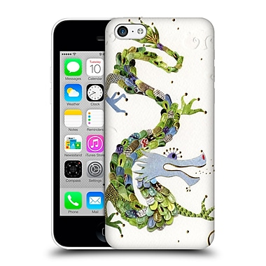 OFFICIAL TURNOWSKY MILLE FEUILLE Dragon Dance Hard Back Case for Apple iPhone 5c (9_E_1CE73)