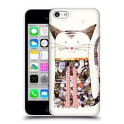 OFFICIAL TURNOWSKY MILLE FEUILLE Cat Cutout Hard Back Case for Apple iPhone 5c (9_E_1CE6D)