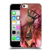 OFFICIAL ANGELO CERANTOLA SKULLS After The Love Has Gone Soft Gel Case for Apple iPhone 5c (C_E_1A39D)