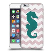 OFFICIAL ARTPOPTART CHEVRON Seahorse Soft Gel Case for Apple iPhone 6 Plus / 6s Plus (C_10_1A221)