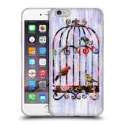OFFICIAL ARTPOPTART COLLAGE Bird Cage Soft Gel Case for Apple iPhone 6 Plus / 6s Plus (C_10_1A236)