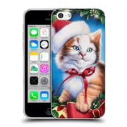 Official Christmas Mix Pets Jenny Newland Kitty Soft Gel Case for Apple iPhone 5c (C_E_1D398)