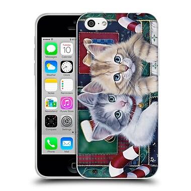 Official Christmas Mix Pets Jenny Newland Calendar Kittens Soft Gel Case for Apple iPhone 5c (C_E_1D393)