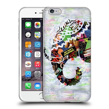 OFFICIAL ARTPOPTART ANIMALS Elephant Soft Gel Case for Apple iPhone 6 Plus / 6s Plus (C_10_1A219)