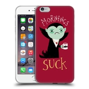 Official DINOMIKE FUN ILLUSTRATIONS Mornings Suck Soft Gel Case for Apple iPhone 6 Plus / 6s Plus (C_10_1BB1F)