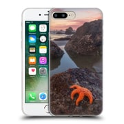Official DARREN WHITE BEACHES AND OCEANS Battle Rock Sunrise Soft Gel Case for Apple iPhone 7 Plus (C_1FA_1B1AF)
