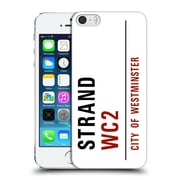 OFFICIAL CITY OF WESTMINSTER STREET SIGNS 4 Strand Hard Back Case for Apple iPhone 5 / 5s / SE (9_D_19D45)