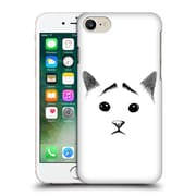 OFFICIAL TUMMEOW CATS IN BLACK AND WHITE Eyebrows Hard Back Case for Apple iPhone 7 (9_1F9_1BA9A)