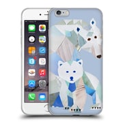 OFFICIAL ARTPOPTART ANIMALS Polar Bears Soft Gel Case for Apple iPhone 6 Plus / 6s Plus (C_10_1A21A)