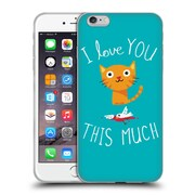 Official DINOMIKE FUN ILLUSTRATIONS I Love You This Much Soft Gel Case for Apple iPhone 6 Plus / 6s Plus (C_10_1BB1D)