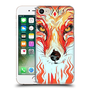 OFFICIAL GIULIO ROSSI ANIMAL ILLUSTRATIONS Fox Hard Back Case for Apple iPhone 7 (9_1F9_1BCAA)