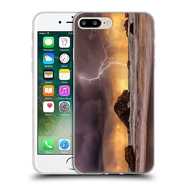 Official DARREN WHITE BEACHES AND OCEANS Chaos At The Well Soft Gel Case for Apple iPhone 7 Plus (C_1FA_1B1B2)