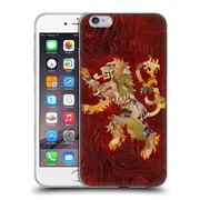 OFFICIAL ARTPOPTART POP CULTURE Lion Crest Soft Gel Case for Apple iPhone 6 Plus / 6s Plus (C_10_1A229)