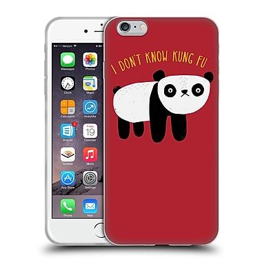 Official DINOMIKE FUN ILLUSTRATIONS Regular Panda Soft Gel Case for Apple iPhone 6 Plus / 6s Plus (C_10_1BB21)
