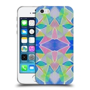 OFFICIAL AMY SIA KALEIDOSCOPE Chroma Blue Soft Gel Case for Apple iPhone 5 / 5s / SE (C_D_1AB61)